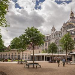 Antwerpen-Zoo: renovatie inkom Zoo