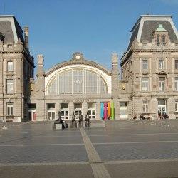 Oostende: renovatie stationsgebouw