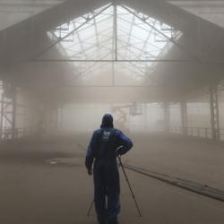 KANAL – Centre Pompidou | straling & conservatie